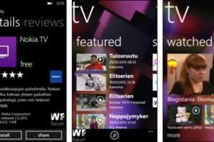 Nokia TV App