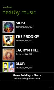 Soundtracker - Windows Phone
