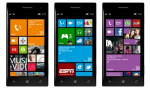 Windows Phone 8 Startsceen