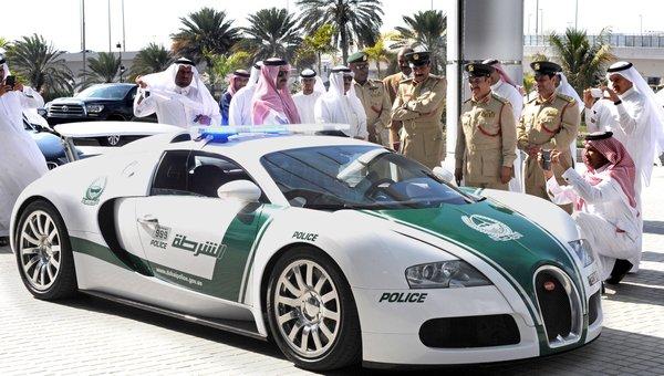 Dubai-Polizist